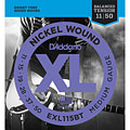 Corde guitare électrique D'Addario EXL115BT Nickel Wound .011-050