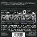 Cuerdas guitarra eléctr. D'Addario EXL120BT Nickel Wound .009-040