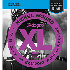 D'Addario EXL120BT Nickel Wound .009-040 « Corde guitare électrique