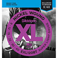 Electrische Gitaar Snaren D'Addario EXL120BT Nickel Wound .009-040