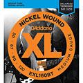 Cuerdas bajo eléctrico D'Addario EXL160BT Nickel Wound .050-120