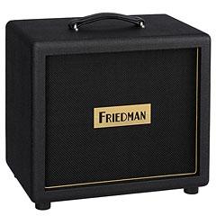 "Friedman Pink Taco 1x12"" BLK/BLK « Baffle guitare élec."