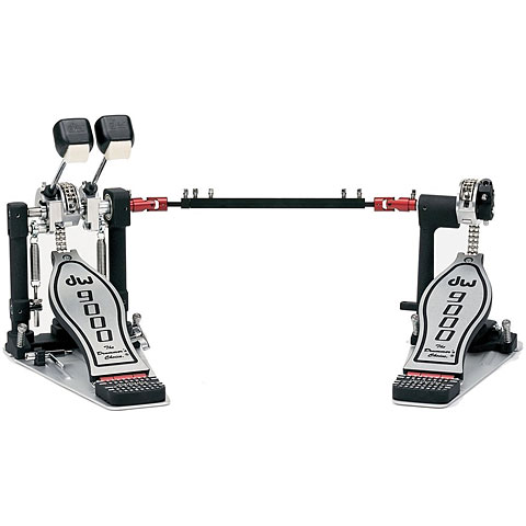 Fußmaschine DW 9000 Series CP9002PBL Double Bass Drum Pedal Lefty Version