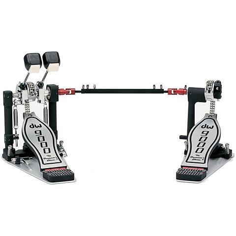 DW 9000 Series Double Bass Drum Pedal Lefty Version