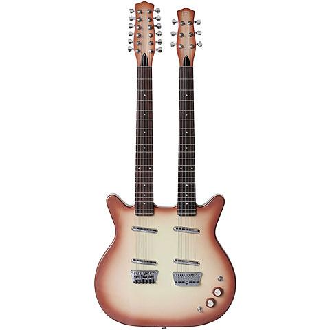 Danelectro Doubleneck 6/12 string « E-Gitarre