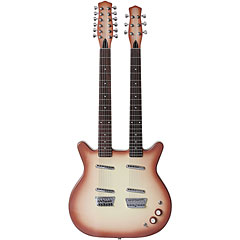 Danelectro Doubleneck 6/12 string « Electric Guitar