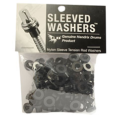 Hendrix Drums Sleeved Washers Black 100 Pcs. « Pieza de recambio