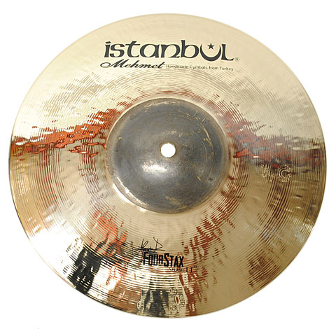 "Istanbul Mehmet Four Way Stax 11"" Shiny Black Bell"