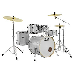 "Pearl Export 20"" Artic Sparkle Complete Drumset « Batterie acoustique"