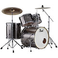 "Trumset Pearl Export 22"" Smokey Chrome Complete Drumset"