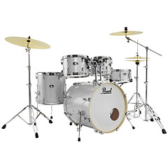 "Pearl Export 22"" Artic Sparkle Complete Drumset « Batterie acoustique"