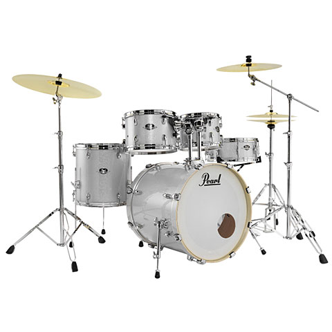 Pearl Export 22  Artic Sparkle Complete Drumset