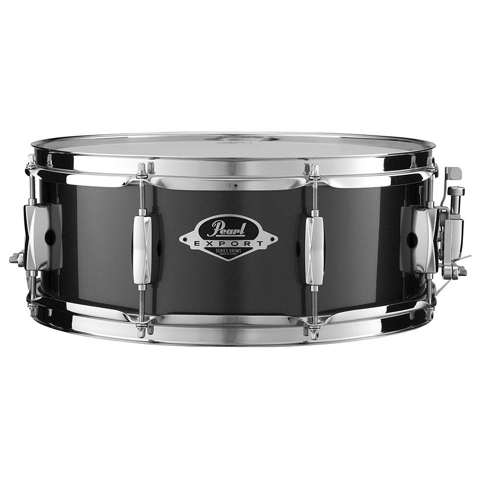 Snaredrum - Pearl Export 14 x 5,5 Jet Black Snare Snare Drum - Onlineshop Musik Produktiv