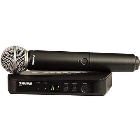 systèmes micro sans fil Shure BLX24E/SM58-S8