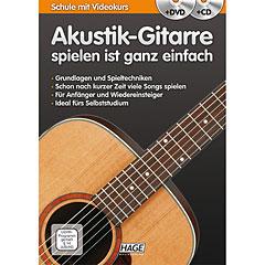 Hage Akustik-Gitarre spielen ist ganz einfach « Lehrbuch