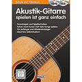 Учебное пособие  Hage Akustik-Gitarre spielen ist ganz einfach