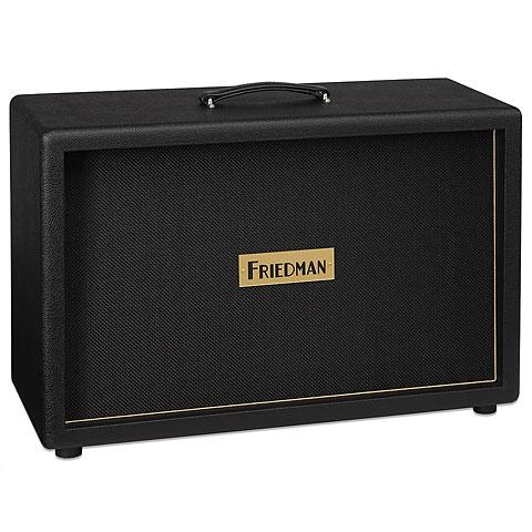 """Pantalla guitarra eléctrica Friedman 2x12"""" BLK"""