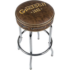 "Gretsch Guitars Bar Stool Logo 1883 30"" « Article cadeau"