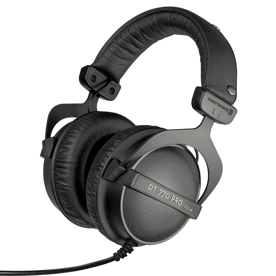 beyerdynamic dt 770 pro 32 ohm headphone. Black Bedroom Furniture Sets. Home Design Ideas