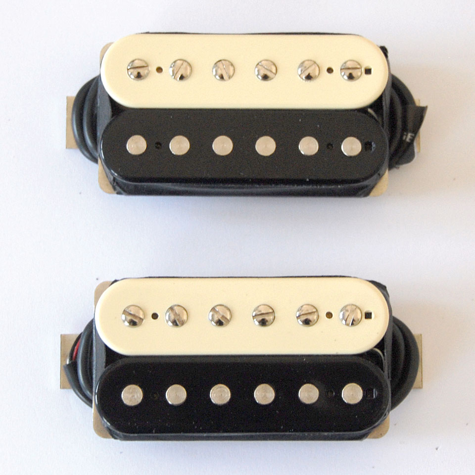 how to change color open coil humbucker