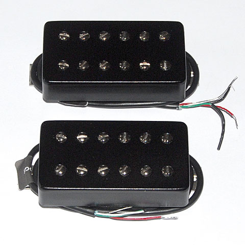 Pickup E-Gitarre Bare Knuckle Aftermath Covered Set Black