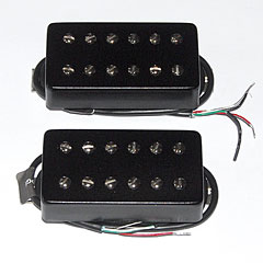 Bare Knuckle Aftermath Covered Set Black « Pickup E-Gitarre