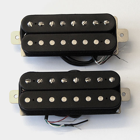 Pickup E-Gitarre Bare Knuckle Nailbomb Open Set 8-String