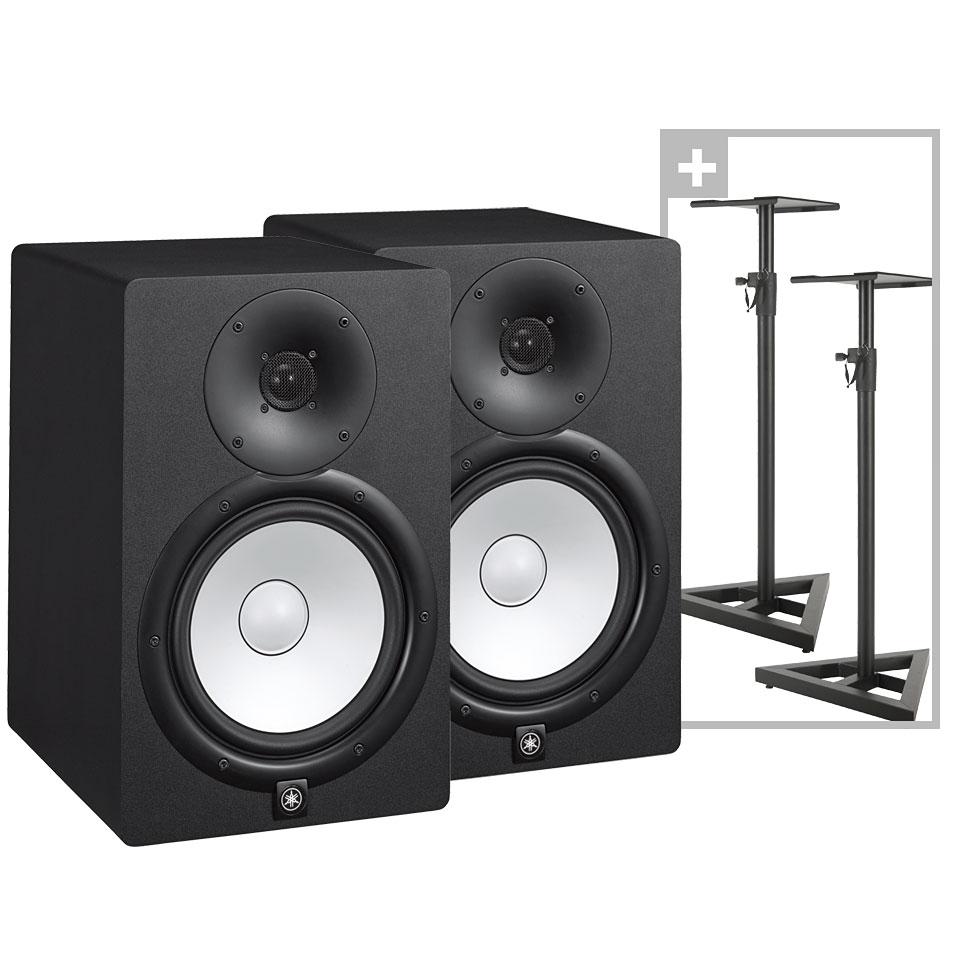 yamaha hs8 stand bundle active monitor. Black Bedroom Furniture Sets. Home Design Ideas