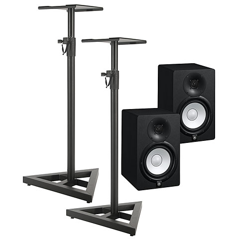 Yamaha hs7 stand bundle active monitor for Yamaha hs5 speaker stands