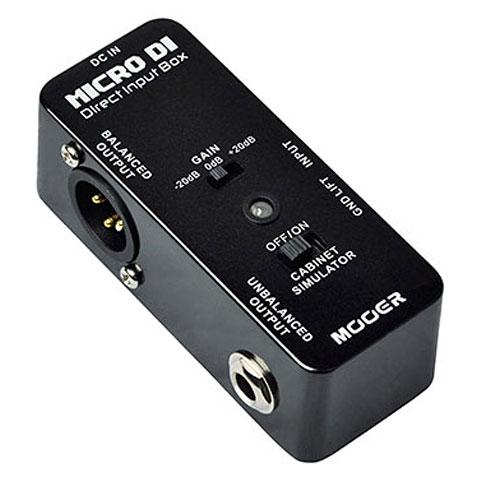 Pedal guitarra eléctrica Mooer Micro DI
