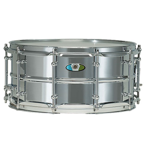 "Ludwig Supralite 14"" x 6,5"" Beaded Steel Snare Drum"