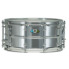 "Ludwig Supralite 14"" x 6,5"" Beaded Steel Snare Drum « Caja"