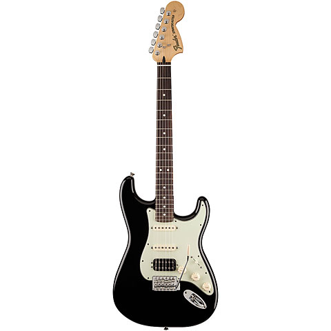 Fender Deluxe Lone Star Strat RW BLK