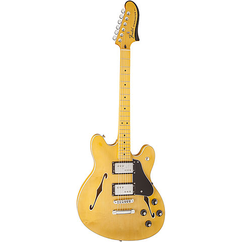 fender modern player starcaster mn nat electric guitar. Black Bedroom Furniture Sets. Home Design Ideas