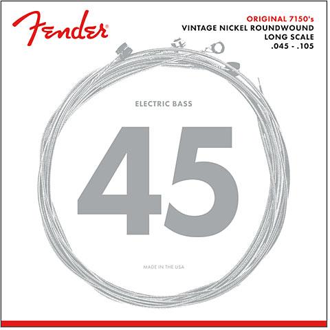 Cuerdas bajo eléctrico Fender 7150M, 045-105