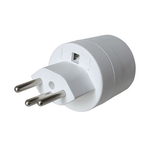 AudioTeknik Plug Adapter EU (Type F) / CH (Type J)