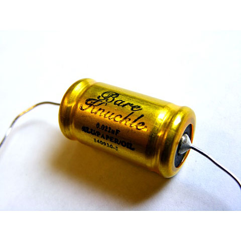 Condensador Bare Knuckle Jensen Capacitor 0.022µfd