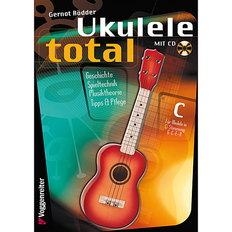 Libros didácticos Voggenreiter Ukulele Total (C-Stimmung)