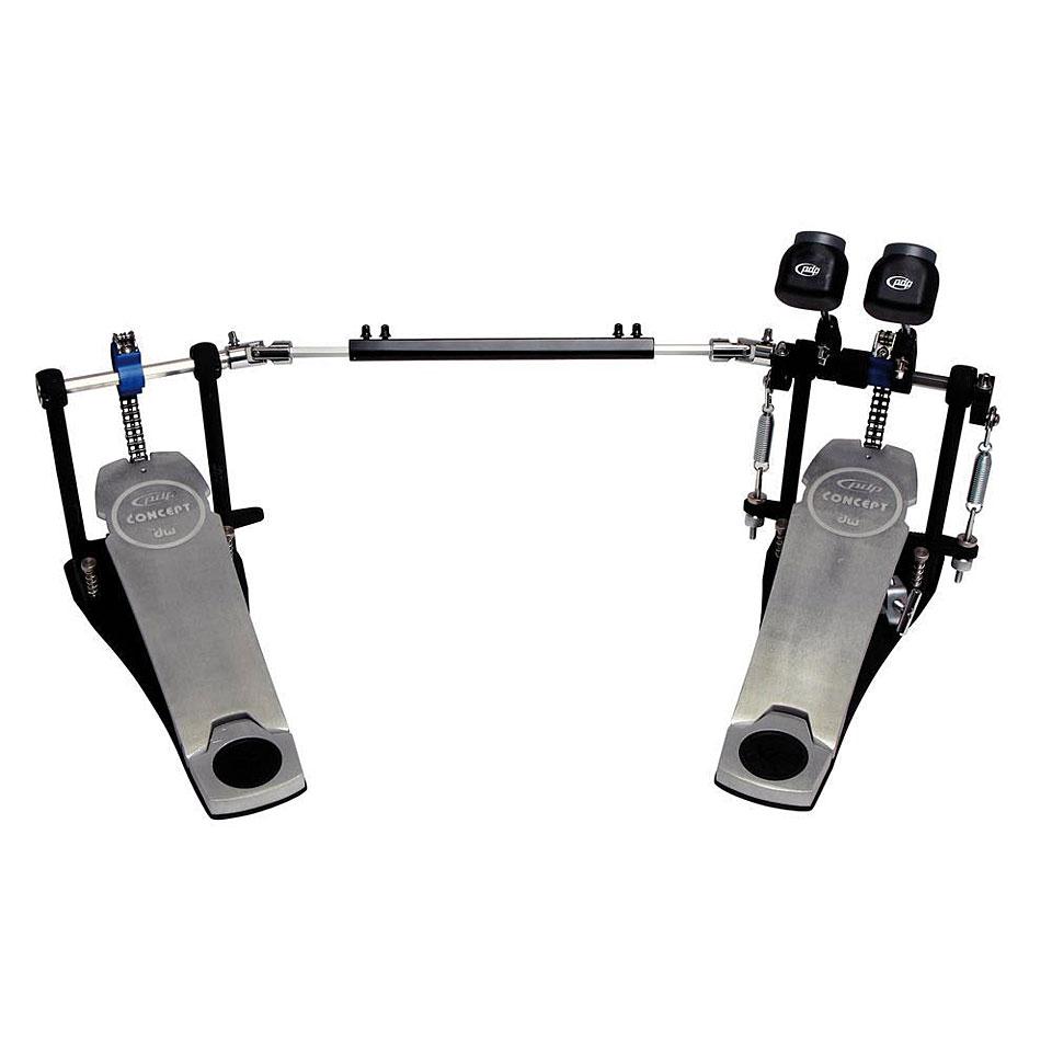 Drumhardware - pdp Concept Double Bass Drum Pedal Fußmaschine - Onlineshop Musik Produktiv