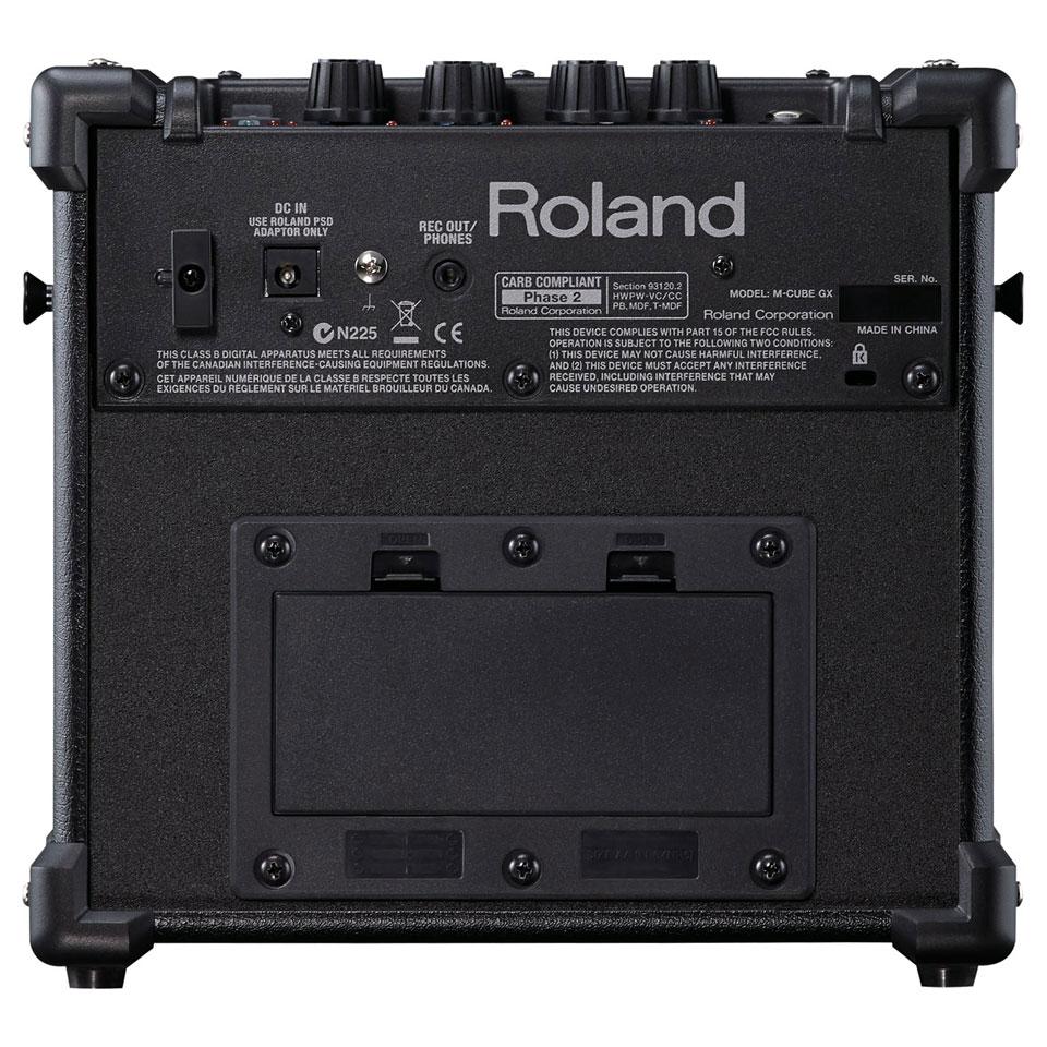 roland micro cube gx black guitar amp musik produktiv. Black Bedroom Furniture Sets. Home Design Ideas
