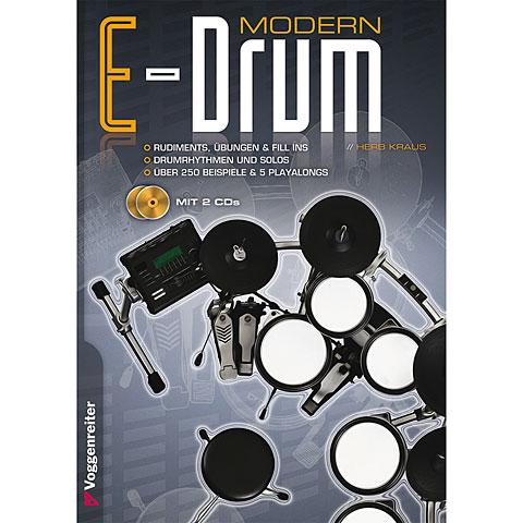 Libros didácticos Voggenreiter Modern E-Drum