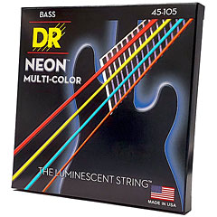 DR NEON Hi-Def MULTI-COLOR Medium « Corde basse électrique