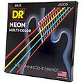 Electric Bass Strings DR NEON Hi-Def MULTI-COLOR Medium