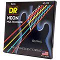 Струны для электрической бас-гитары  DR NEON Hi-Def MULTI-COLOR Medium 5
