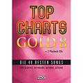 Βιβλίο τραγουδιών Hage Top Charts Gold 8