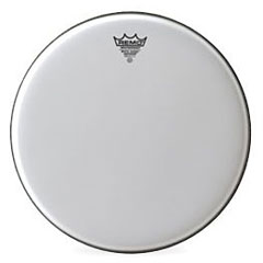 "Remo Emperor White Suede 16"" Tom Head"