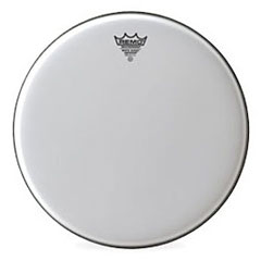 "Remo Emperor White Suede 14"" Tom Head"