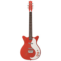 "Danelectro 59 O ""Original"" Red Alligator « Elgitarr"