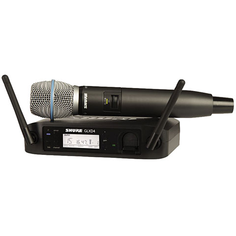 Funkmikrofon Shure GLXD24E/B87-Z2