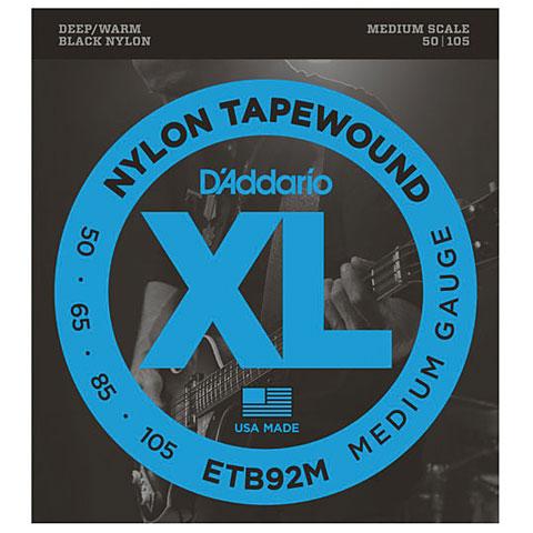 Saiten E-Bass D'Addario ETB92M Nylon Tapewound .050-105